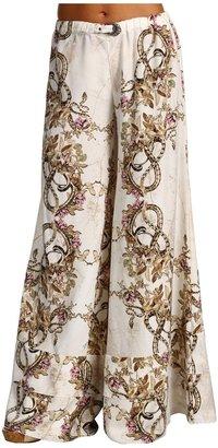 Just Cavalli Floral Snake Pants (Natural) - Apparel