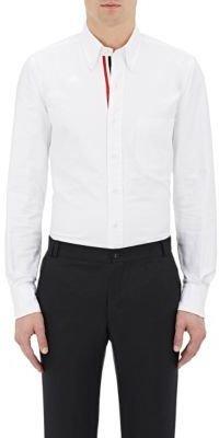 Thom Browne Men's Oxford Cloth Shirt-WHITE $370 thestylecure.com