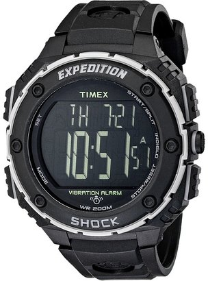 Timex EXPEDITION® Shock XL Vibrating Alarm Resin Strap Watch $79.95 thestylecure.com