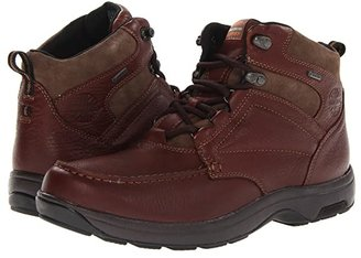 Dunham Exeter Gore-Tex(r) Moc Toe Chukka Waterproof (Dark Brown) Men's Lace-up Boots