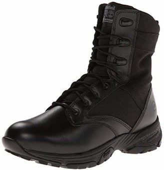 Timberland Men's 8 Inch Valor Soft Toe Side-zip Duty Boot