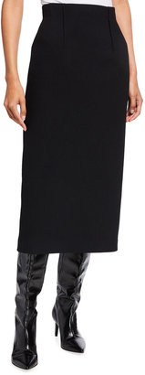 Lafayette 148 New York Rafferty Nouveau Crepe Midi Skirt