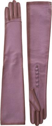 Nina Ricci Long Leather Gloves