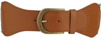 Forever 21 Leatherette Buckle Waist Belt