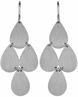 Irene Neuwirth Signature Small Teardrop Chandelier Earrings - White Gold