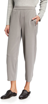 Eileen Fisher Stretch Ponte Lantern Ankle Pant