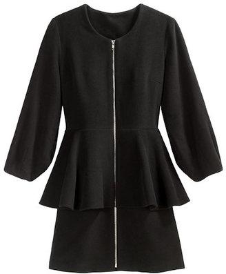 Loeffler Randall Peplum coat
