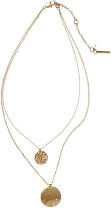Kenneth Cole New York Double Layer Pendant Necklace