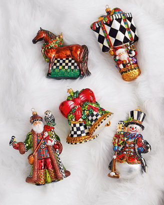 Mackenzie Childs MacKenzie-Childs Noel Bells Christmas Ornament