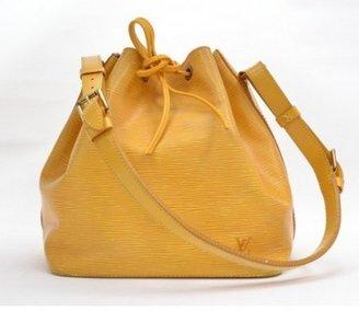 Louis Vuitton very good (VG Yellow Epi Leather Noe Petit Shoulder Bag