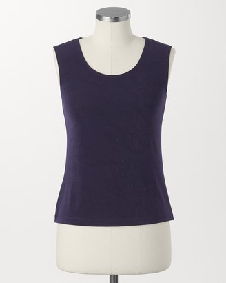 Coldwater Creek Travel knit shell