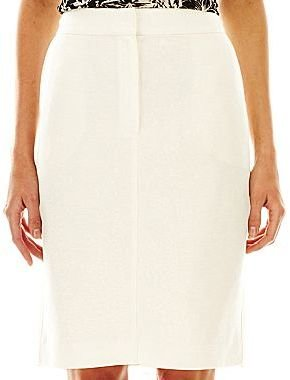 Mng by Mango® Linen-Blend Pencil Skirt