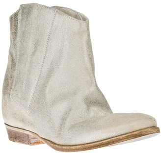 Cinzia Araia metallic ankle boot