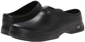 Skechers Oswald - Balder (Black) Men's Industrial Shoes