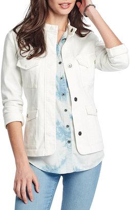 Nic+Zoe Denim Safari Jacket