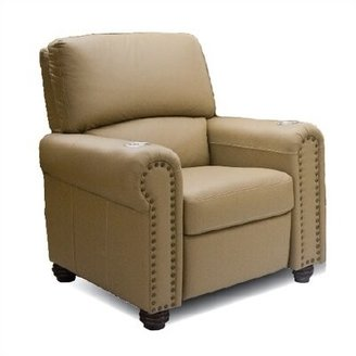 Bass Showtime Home Theater Individual Seat Upholstery: Nusuede - Berry, Type: Manual