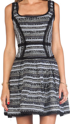 Milly Malhia Couture Tweed Piper Party Dress