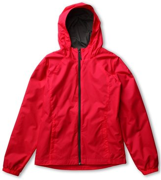 Columbia Kids - Trail Time Jacket (Little Kids/Big Kids) (Bright Rose/Grill) - Apparel