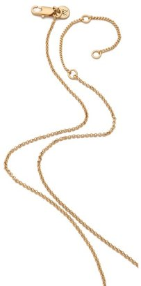Madewell Pave Cone Locket Necklace