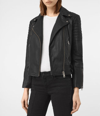 Papin Leather Biker Jacket $670 thestylecure.com