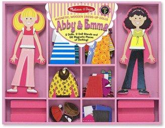 Melissa & Doug Abby & Emma Magnetic Dress-Up Playset