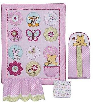 Disney Winnie the Pooh Spring Friends 4-Piece Crib Set