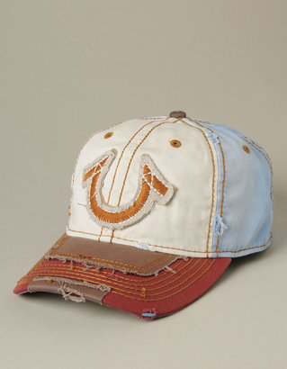 True Religion Limited Edition Sewn & Patched Horseshoe Baseball Cap