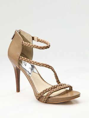 MICHAEL Michael Kors Braided Strappy Sandals