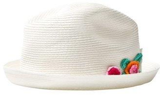 Pate De Sable Flower Crochet Applique Hat