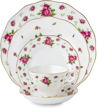 Royal Albert New Country Roses White Vintage Formal Dinnerware