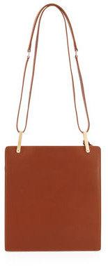 Balenciaga Le Dix Besace Bag, Brown