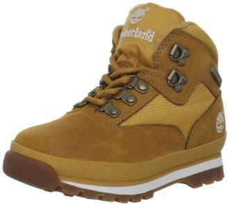 Timberland Euro Hiker Leather and Fabric Boot (Toddler/Little Kid/Big Kid)