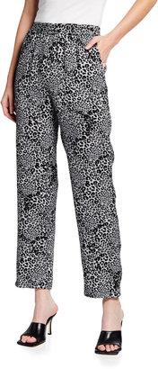 Kobi Halperin Shelby Cheetah-Print Ankle Pant