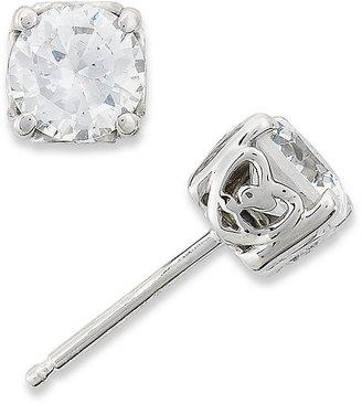 Diamond Earrings, 14k White Gold Lucia-Cut Diamond Stud Earrings (1 ct. t.w.)