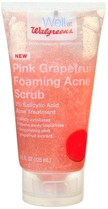 Walgreens Foaming Acne Scrub Grapefruit