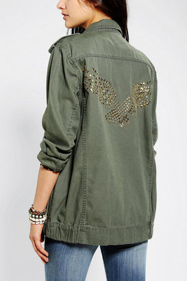 BDG Eagle-Studded Surplus Jacket