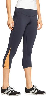 """Old Navy Women's Active by Compression-Mesh Capris (20"""")"""