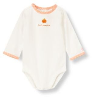 Janie and Jack Little Pumpkin Bodysuit