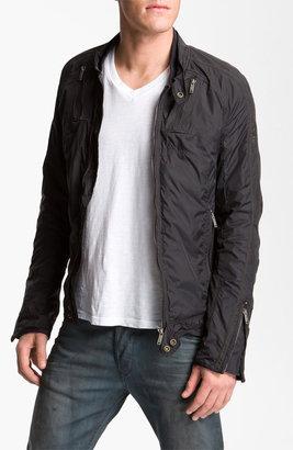 Diesel 'Jurlo' Trim Fit Nylon Moto Jacket