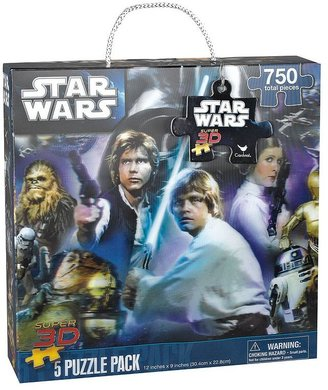 Star Wars 5-pk. super 3d lenticular puzzles by cardinal