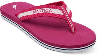 Nautica Women's Garland Flip Flops Women's Shoes $25 thestylecure.com