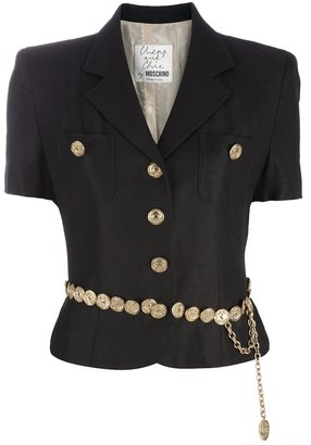 Moschino Vintage belted suit