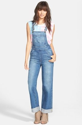 Wildfox Couture 'Ladonna' Straight Leg Overalls (Idol)