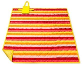Pink/Yellow Stripe Picnic Blanket