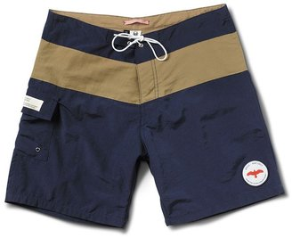 Toms Navy & Khaki Swim Trunk