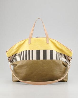 Kelsi Dagger Mustard Calloway Dome Tote Bag