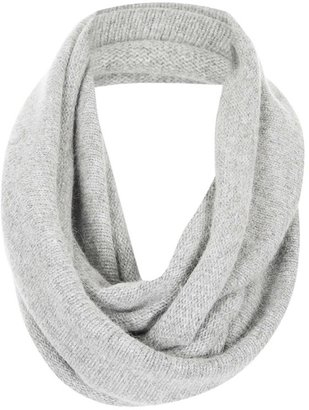 Topshop Rolled Edge Infinity Scarf