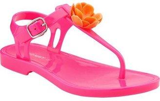 Old Navy Girls Neon-Flower Sandals