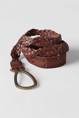 Lands' End Women's Twisted Braid Belt