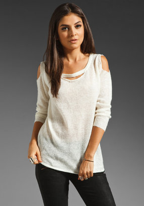 Lovers + Friends Let Go Sweater in Cream